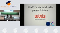 Présentation Wiris : MATH tools in Moodle : present & future